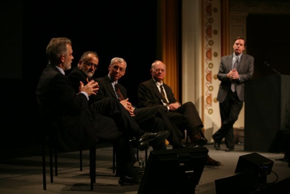 Panel discussion during the 2013 Camden Conference.