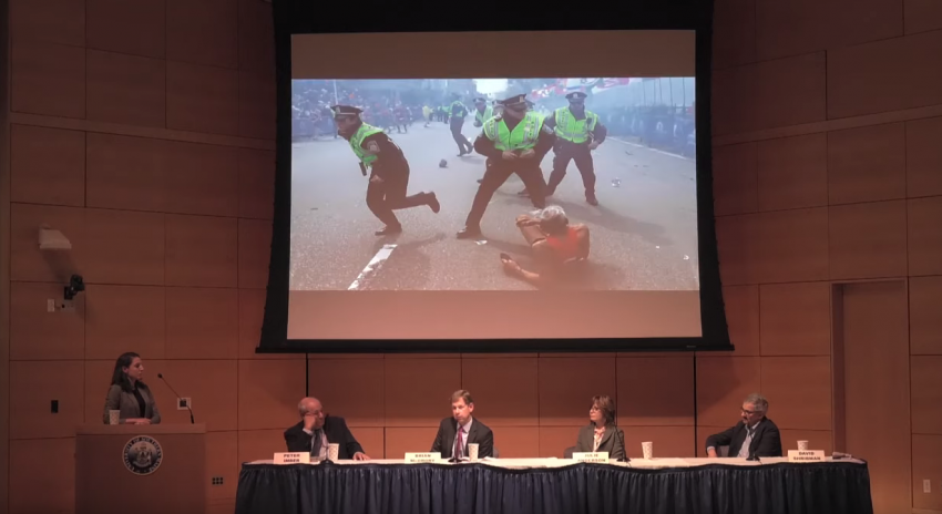 "Video of October 7 event ""Violence, Victims, and Healing: How media handles major tragedies"""