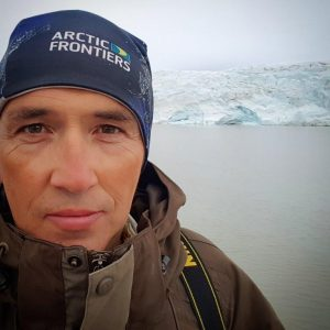 Thomas Nilsen in the Arctic